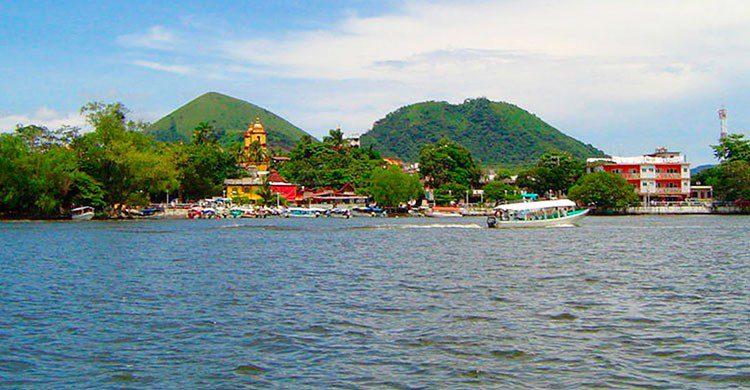 Laguna en Catemaco
