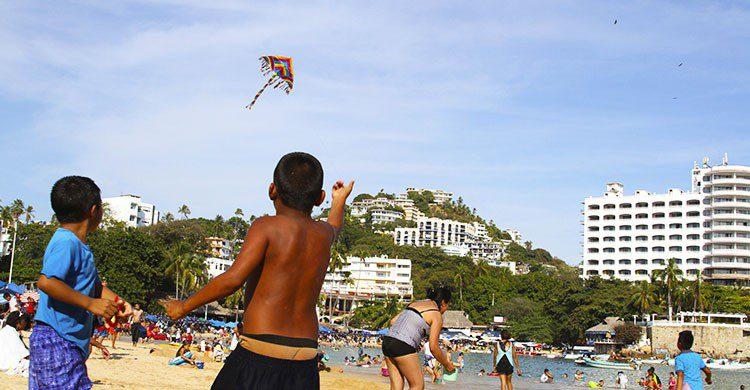 Papalote en acapulco