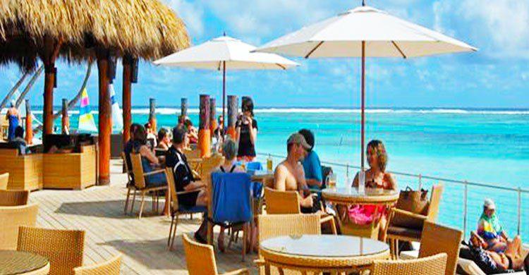 Restaurante en la costa