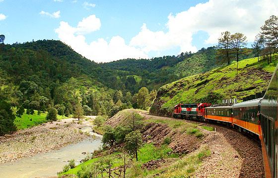 Vista del Tren El Chepe