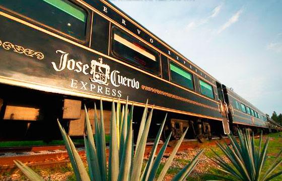 Vista del Tren José Cuervo Express