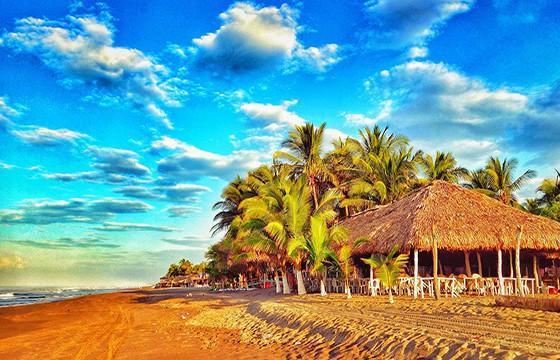 Playa arista en chiapas