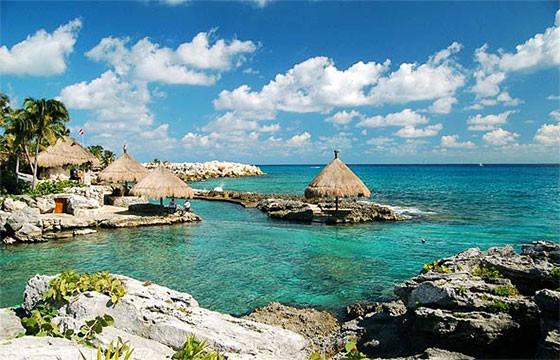 Vista de Playa del Carmen Quintana Roo México Ruta Maya