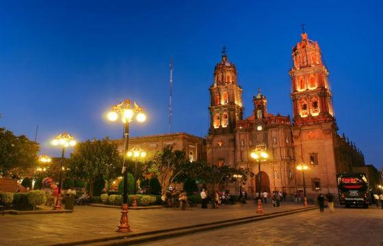 Vista de la mágica Catedral de San Luis