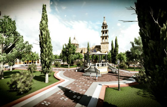 Vista del Centro Histórico de Silao