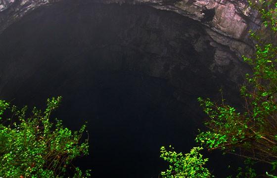 El sótano de las Golondrinas. Lugares más extremos del mundo.