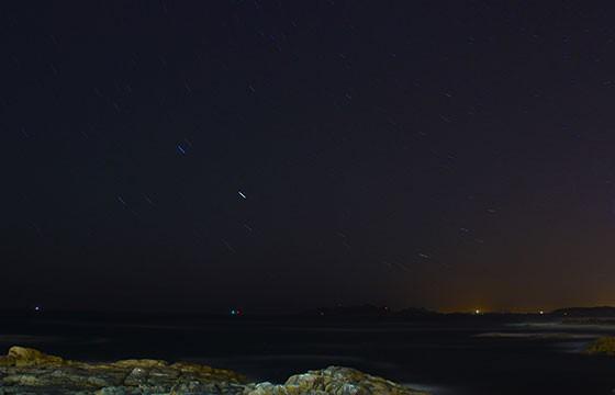 Isla Grande, Hawái. Los mejores lugares del mundo para ver las estrellas.