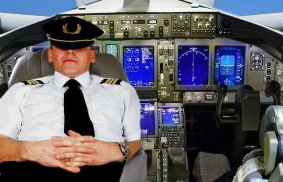 Pilotos toman descanso durante los vuelos