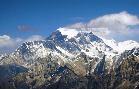 Monte Everest. Lugares más extremos del mundo.