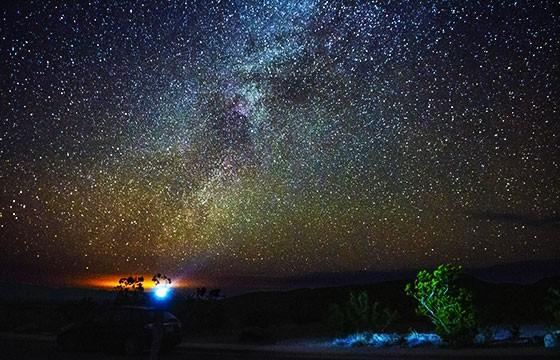 Parque Nacional Big Bend, Texas. Los mejores lugares del mundo para ver las estrellas.