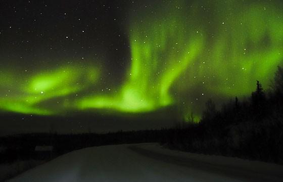 Parque Nacional Denali, Alaska. Los mejores lugares del mundo para ver las estrellas.