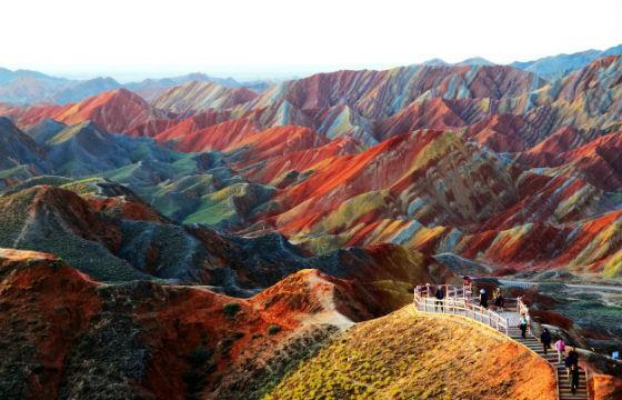 Parque geológico de Zhangye, China. 10 lugares que todo fotógrafo debe visitar.