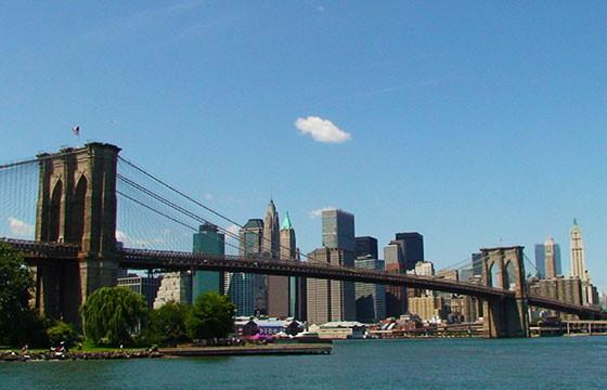 Vista del Puente de Brooklyn