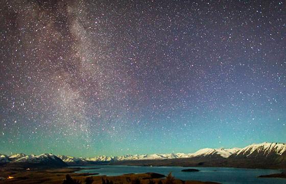 Reserva internacional Aoraki Mackenzie, Nueva Zelanda. Los mejores lugares del mundo para ver las estrellas.