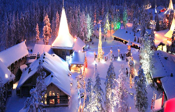 Rovaniemi, Finlandia. Dime tu edad y te diré donde viajar.