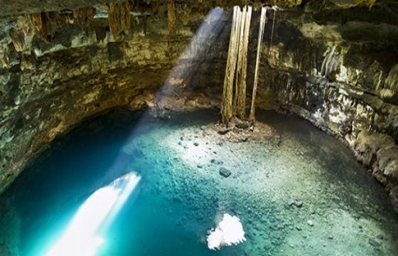 Vista del Anillo de Cenotes