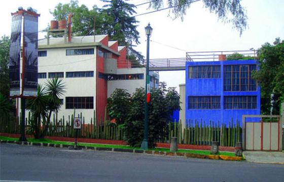 Vista del Museo Casa Estudio Diego y Frida