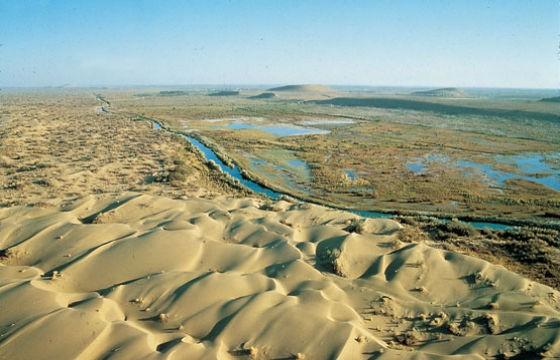 vista del Mar de Aral