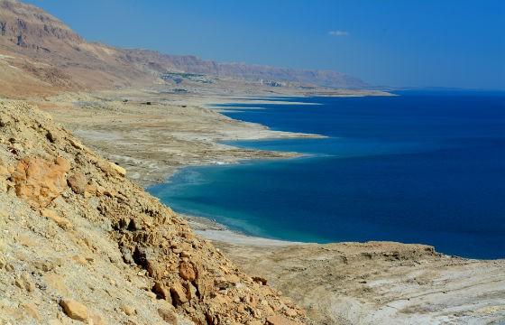 Vista del Mar Muerto