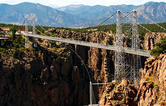 Vista del Puente Royal Gorge