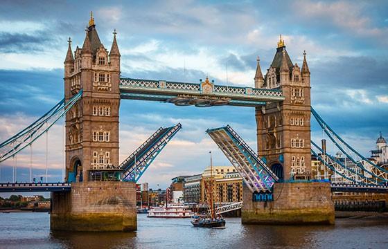 Vista del Puente Tower en Inglaterra