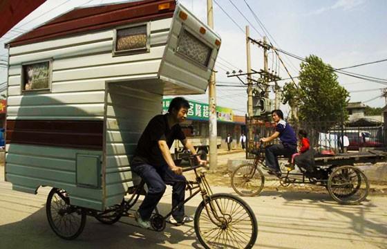 Bicicleta-casa