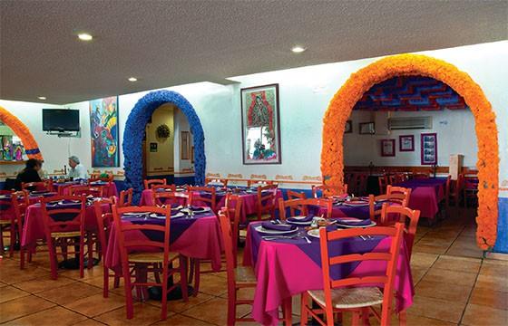 Restaurante El Bajío.