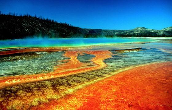Fuente Prismática en Yellowstone