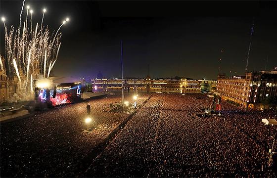 Los mejores conciertos son en el D. F.