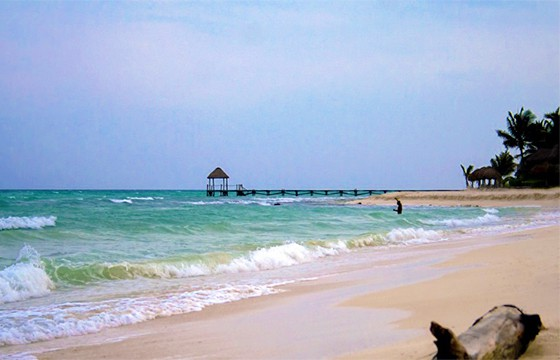 playa arenosa.