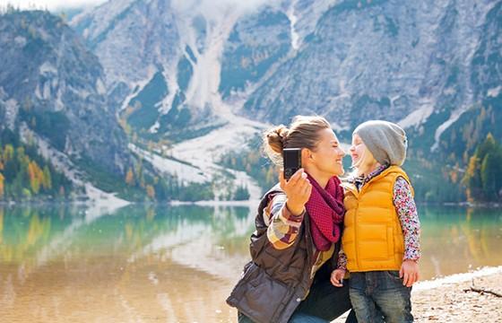Practica antes de tomarla. 10 tips para obtener las mejores selfies de viajes.
