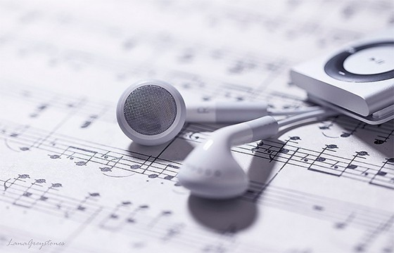 Reproductor de música.