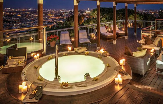 Hotel Rome Cavalieri Waldorf Astoria.