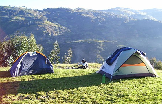 campamento en parque el Ocotal