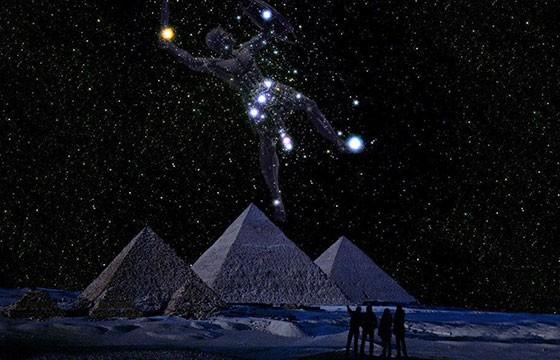 Alineación con la constelación de Orión