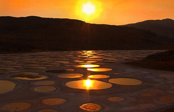 Lago manchado