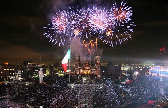 Celebrar la independencia en la Ciudad de México
