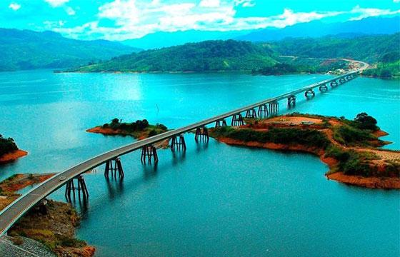 Vista del Puente Chiapas