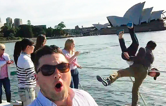 selfie-en-pelea