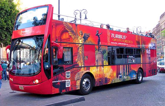 Recorridos en Turibus