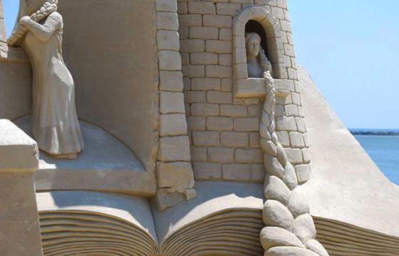 Escultura de Rapunzel
