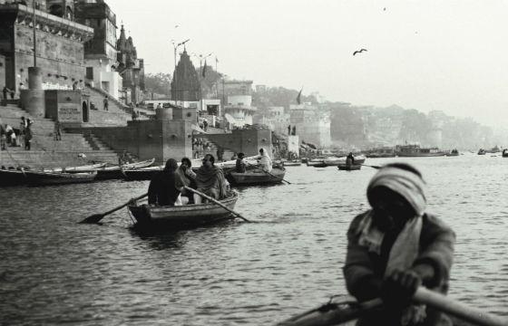 Ganges at Varanasi, India.-R Barraez D´Lucca-Flicker