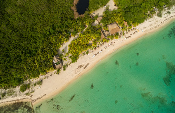 Palancar beach in Cozumel Mexico drone-dronepicr-Flicker