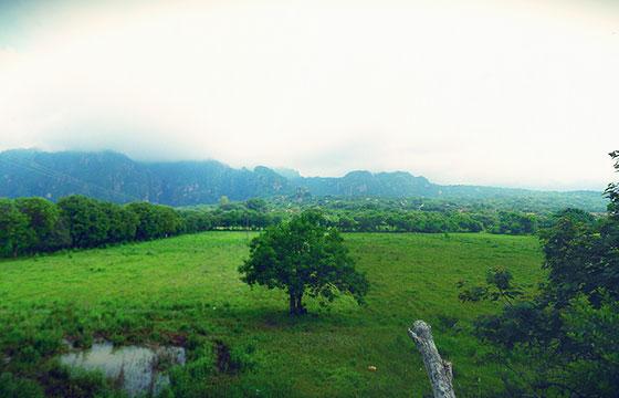 Tepoztlán panorama-Fotografía de Roberto Robles-Flicker