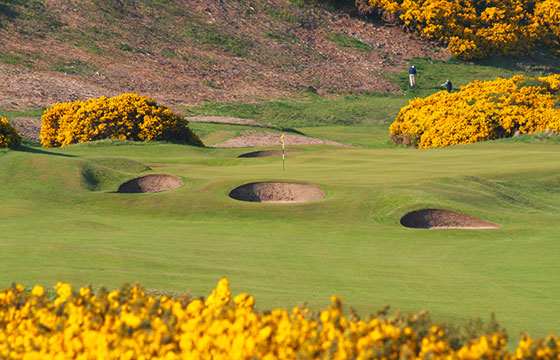 5th hole, Royal Dornoch Golf Club-John Haslam-Flickr