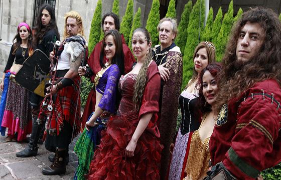 Vestimenta festival medieval