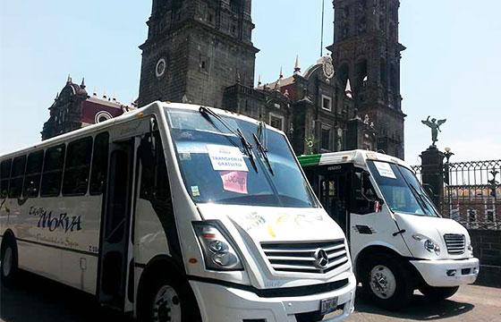 Transporte Puebla