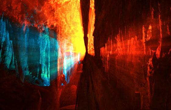 Cercanía grutas de la estrella