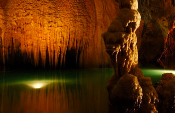 Diversion en las grutas de la estrella