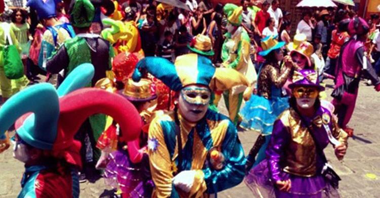 Desfile de los locos en San Miguel de Allende